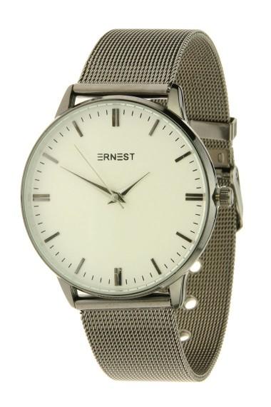 """Ernest horloge """"New-Thalix"""" zwart"""