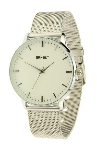 "Ernest horloge ""New-Thalix"" zilver"
