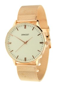 """Ernest horloge """"New-Thalix"""" rosé"""
