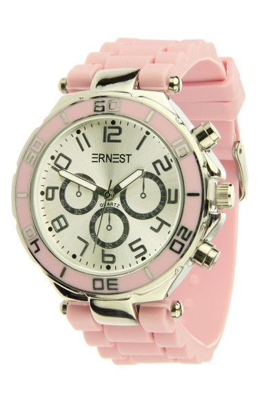 Ernest horloge Silver-case