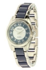 """Ernest horloge """"Clicker"""" blauw"""