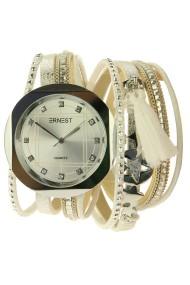 "Ernest horloge/armband ""Glance"" wit"