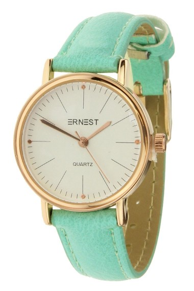 "Ernest horloge ""Mini-Fancy"" turquoise"