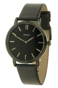 "Ernest horloge ""Lachifa"" zwart-zwart"
