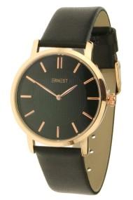 "Ernest horloge ""Lachifa"" zwart-rosé"