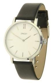"Ernest horloge ""Lachifa"" zwart-zilver"