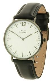"""Philippe Constance horloge """"Class"""" zwart-wit"""