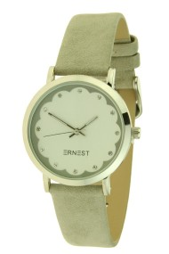 "Ernest horloge ""Ingmar"" lichtgrijs"