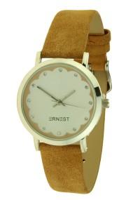 "Ernest horloge ""Ingmar"" lichtbruin"