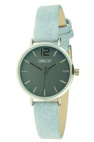 "Ernest horloge ""Silver-Cindy-Mini"" jeansblauw"