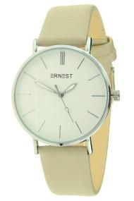 """Ernest horloge """"Silver-Madelena"""" beige"""