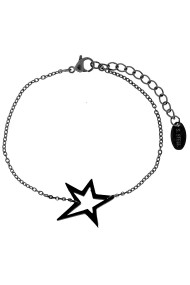 "Armband ""Big star"" zwart"