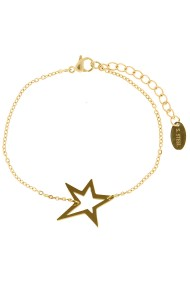 "Armband ""Big star"" goud"
