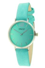 "Ernest horloge ""Silver-Cindy-Mini"" turquoise"