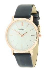 "Ernest horloge ""Rosé-Andrea"" donkerblauw"