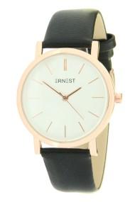 "Ernest horloge ""Rosé-Andrea"" zwart"