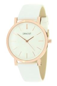 "Ernest horloge ""Rosé-Andrea"" wit"