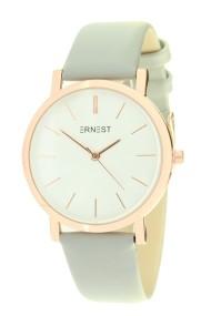 """Ernest horloge """"Rosé-Andrea"""" lichtgrijs"""