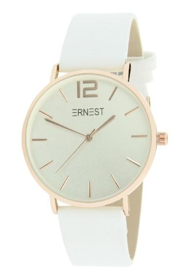 """Ernest horloge """"Rosé-Cindy"""" wit"""