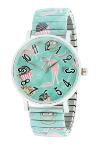 "Ernest horloge ""Pink Heels"" mint"