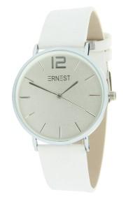 """Ernest horloge """"Silver-Cindy"""" wit"""