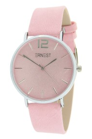 "Ernest horloge ""Silver-Cindy"" lichtroze"