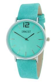 "Ernest horloge ""Silver-Cindy"" turquoise"
