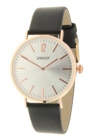 "Ernest horloge ""Rosé-Lechita"" zwart-zilver"