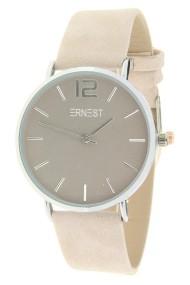 """Ernest horloge """"Silver-Cindy"""" beige"""