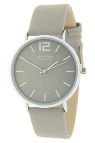 """Ernest horloge """"Autumn-Silver-Cindy"""" lichtgrijs"""