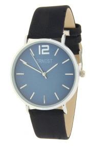 """Ernest horloge """"Autumn-Silver-Cindy"""" donkerblauw"""