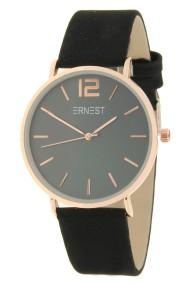 "Ernest horloge ""Autumn-Rosé-Cindy"" zwart"