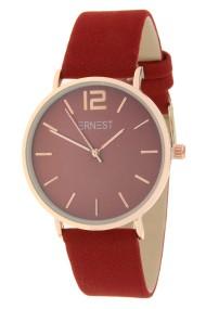 "Ernest horloge ""Autumn-Rosé-Cindy"" donkerrood"