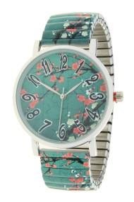 "Ernest horloge ""Green Blossom"""