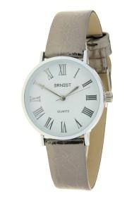 "Ernest horloge ""Glossy"" donkergrijs"