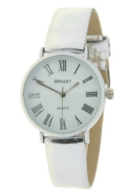 """Ernest horloge """"Glossy"""" zilver"""