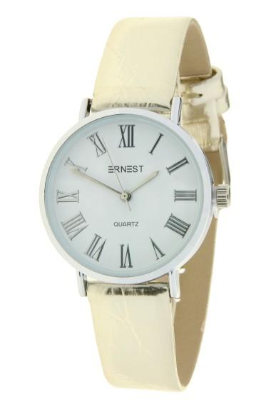 """Ernest horloge """"Glossy"""" lichtgoud"""