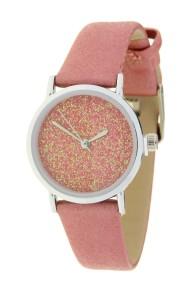 """Ernest horloge """"Sparkle"""" pink"""