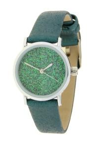 """Ernest horloge """"Sparkle"""" groen"""