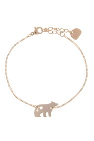 "RVS armband ""Bear"" rosé"