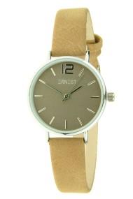 """Ernest horloge """"Silver-Cindy-Mini"""" camel"""