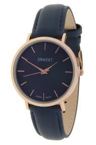 "Ernest horloge ""Nox"" rosé-donkerblauw"