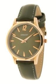 """Ernest horloge """"Rose-Jula"""" donkergroen"""