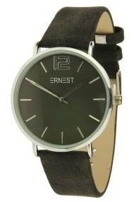 """Ernest horloge """"Autumn-Silver-Cindy"""" zwart"""